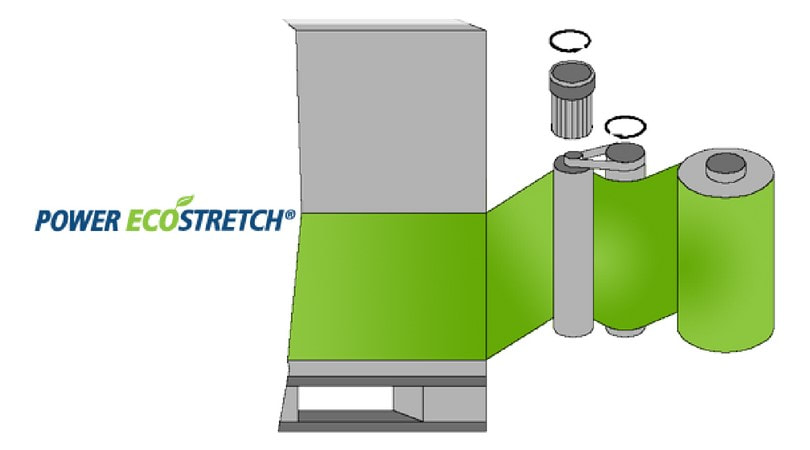 System rozciągu folii Power EcoStretch